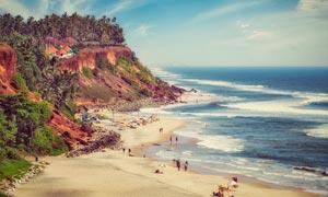 海邊旅游度假美景攝影圖片