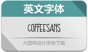Coffee系列两款英文字体