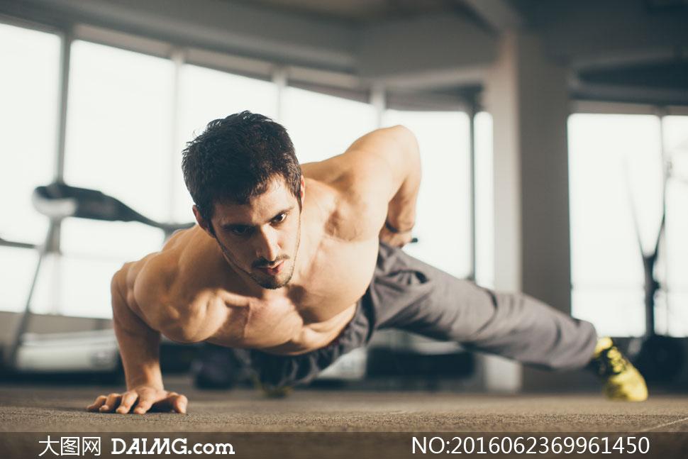 高清大图图片素材摄影人物运动健身肌肉男