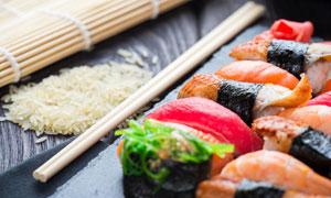 日本料理美食特写微距摄影高清图片