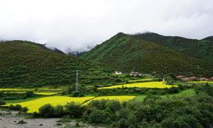 四川唯美山区美景摄影图片