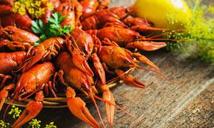 香辣小龙虾美食菜品摄影图片