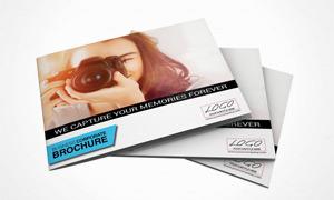 摄影师作品展示画册版式矢量源文件
