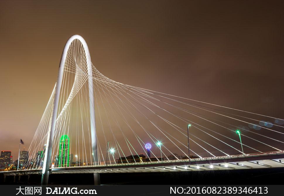 美国德克萨斯大桥风光摄影高清图片