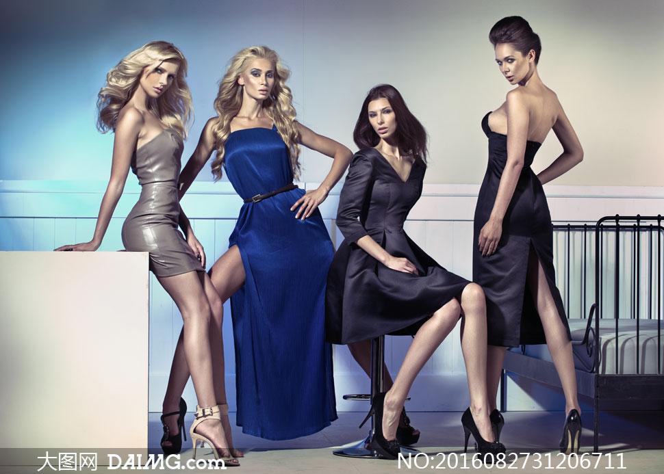 服饰美女模特时尚写真大片高清图片 - 大图网设计素材