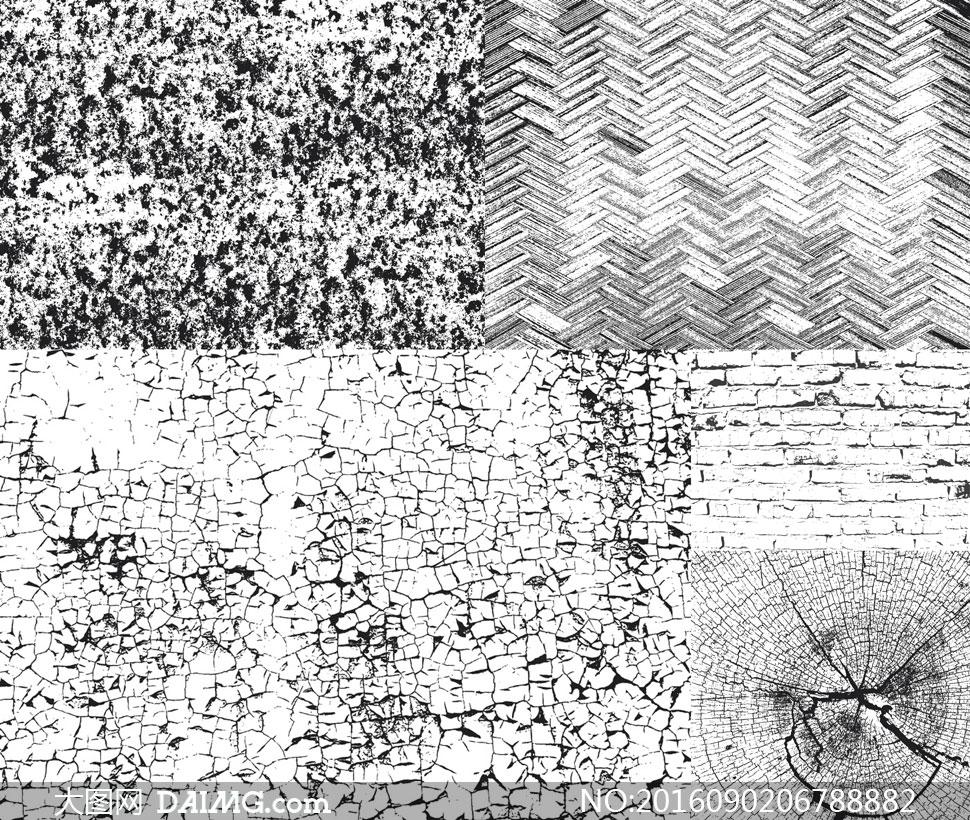 关 键 词: 矢量素材矢量图设计素材纹理背景黑白颓废怀旧破旧木纹