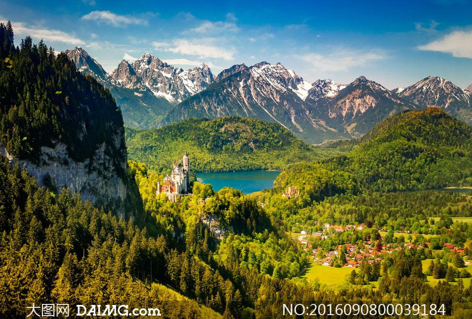 风景照片清新通透效果PS教程素材