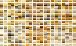 6套复古暖黄色效果PS渐变
