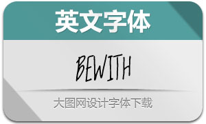 Bewith-Regular(英文字体)