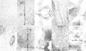 10张颓废垃圾纹理背景图片素材