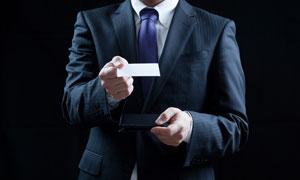 衣着光鲜职场商务人物摄影高清图片
