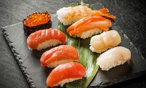 美味可口寿司料理特写摄影高清图片