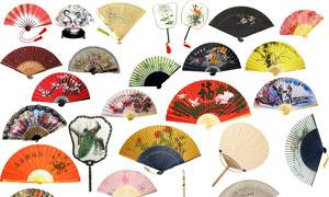 中国风传统扇子集合PSD源文件
