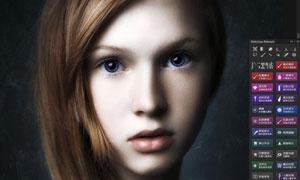 人像后期美容精修磨皮PS扩展V3
