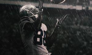 超酷的下雨GIF动画效果PS动作