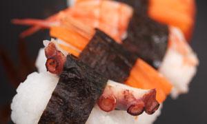 美味日料寿司微距特写摄影高清图片