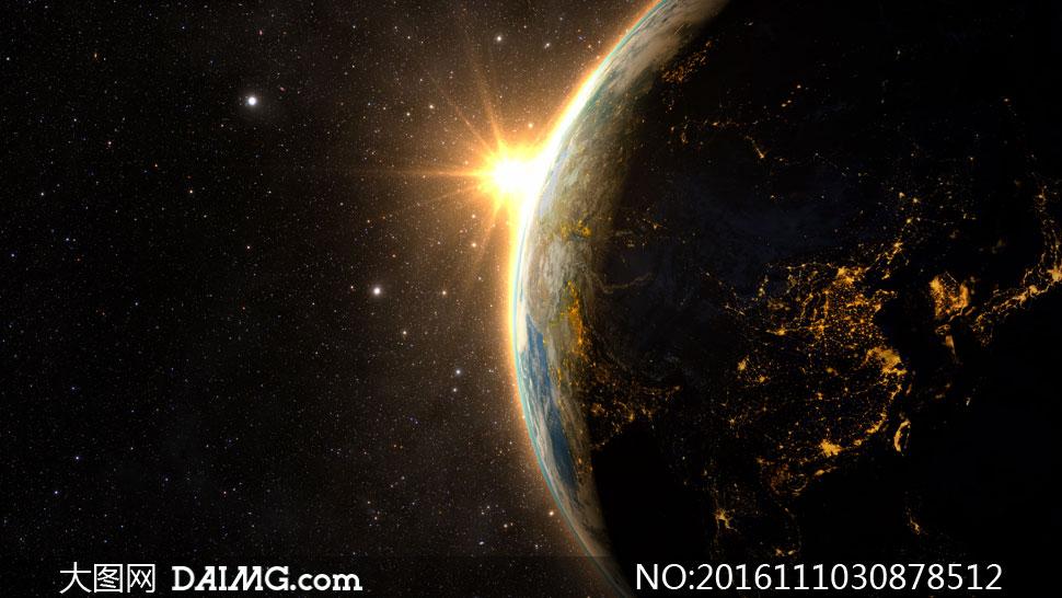 关 键 词: 高清图片大图素材摄影天空宇宙星云星空浩瀚星系阳光地球