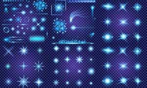 多种光效光源等主题矢量素材集合V4