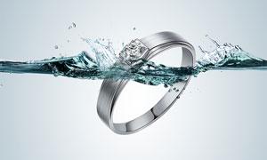 钻石戒指后期金属质感修复PS教程素材