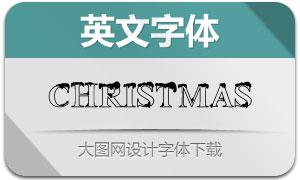ChristmasSnowyFont(英文字体)
