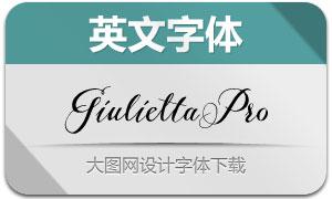 GiuliettaPro(英文字体)