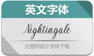 Nightingale(英文字体)