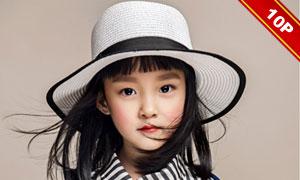 潮范主题儿童人物摄影相册模板集V4