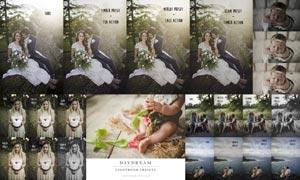 Daydream系列后期甜美和暖色LR预设