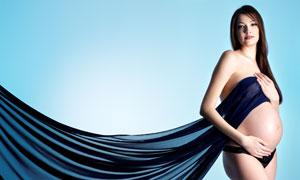 孕妇美女人物性感写真摄影高清图片