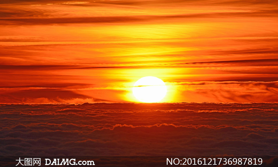 高清大图图片素材摄影自然风景风光太阳