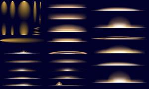 多款氛围营造适用光效元素矢量素材