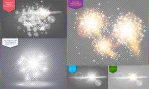 耀眼夺目光效创意元素矢量素材集V2