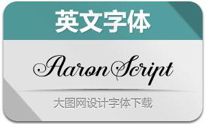 AaronScript(英文字体)