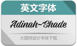 Adinah-Shade(英文字体)