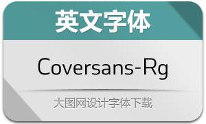 Coversans-Regular(英文字体)