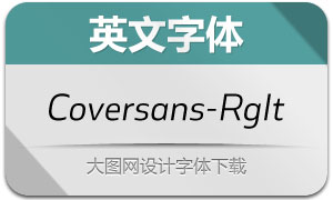 Coversans-RegularItalic(英文字体)