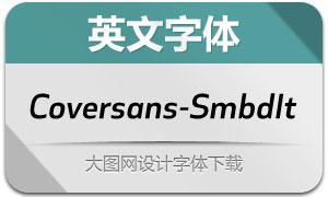 Coversans-SemiboldIt(英文字体)