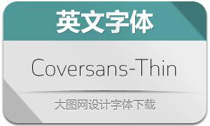 Coversans-Thin(英文字体)