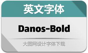 Danos-Bold(英文字体)