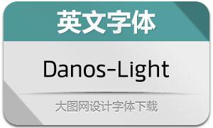 Danos-Light(英文字体)