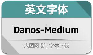 Danos-Medium(英文字体)