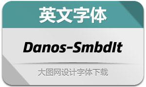 Danos-SemiBoldItalic(英文字体)