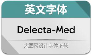 Delecta-Medium(英文字体)