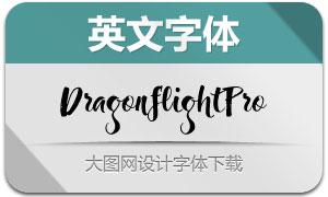 DragonflightPro系列4款英文字体