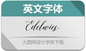 Edelwies(英文字体)