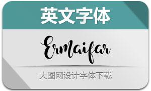 Ermaifar(英文字体)