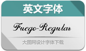 Fuego-Regular(英文字体)