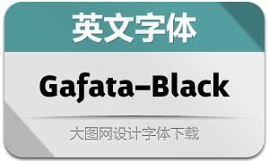 Gafata-Black(英文字体)