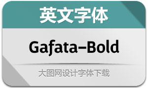 Gafata-Bold(英文字体)