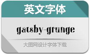 Gatsby-Grunge(英文字体)